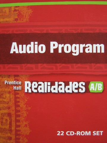 Realidades A/B Audio Program (CD)(PK)