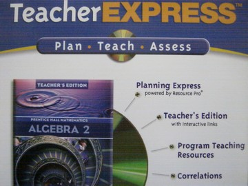 Algebra 2 TeacherExpress (TE)(CD)