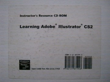 Learning Adobe Illustrator CS2 Instructor's Resource CD (TE)(CD)