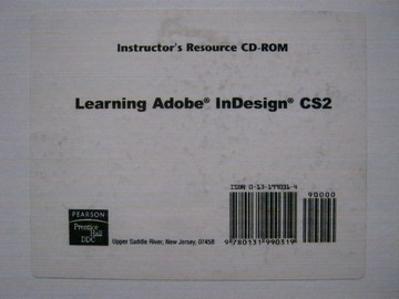 Learning Adobe InDesign CS2 Instructor's Resource CD (TE)(CD)
