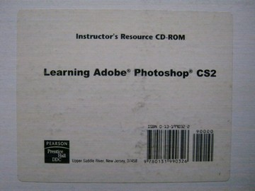 Learning Adobe Photoshop CS2 Instructor's Resource CD (TE)(CD)