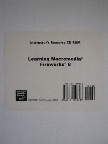 Learning Macromedia Fireworks 8 Instructor's Resource (CD)