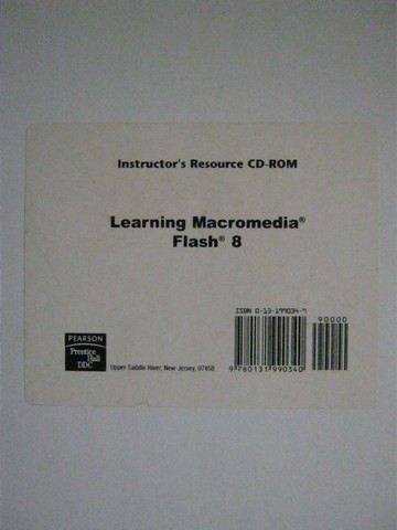 Learning Macromedia Flash 8 Instructor's Resource CD (CD)