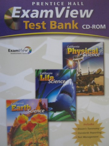 California Focus on Science ExamView Test Bank (CD)(CA)