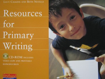 Resources for Primary Writing CD-ROM (CD) by Calkins & Neville
