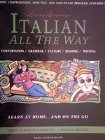 Living Language Italian All the Way Basic-Intermediate (Pk)