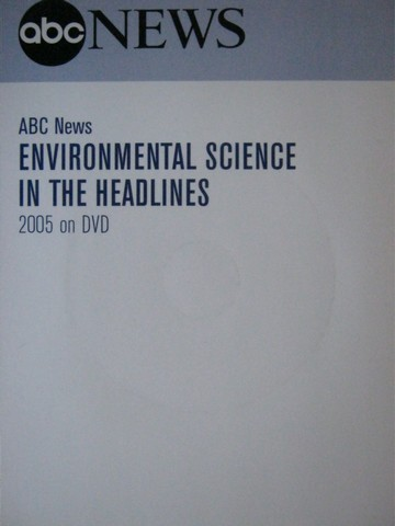 ABC News Environmental Science in the Headlines 2005 on DVD (P)