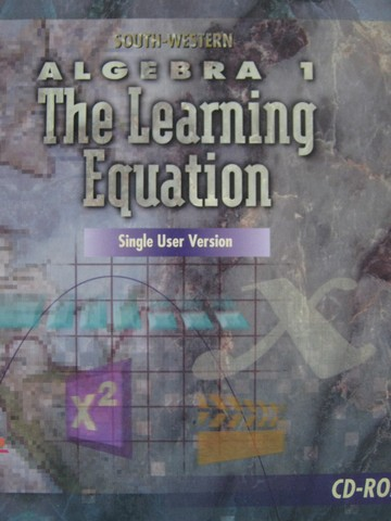 South-Western Algebra 1 the Learning Equation Single User (CD)
