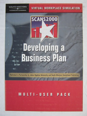 Scans2000 Developing a Business Plan Multi-User Pack (Box)