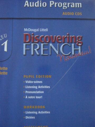 Discovering French Nouveau Bleu 1 Audio Program Binder