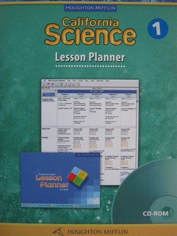 California Science 1 Lesson Planner CD-ROM (CA)(P)