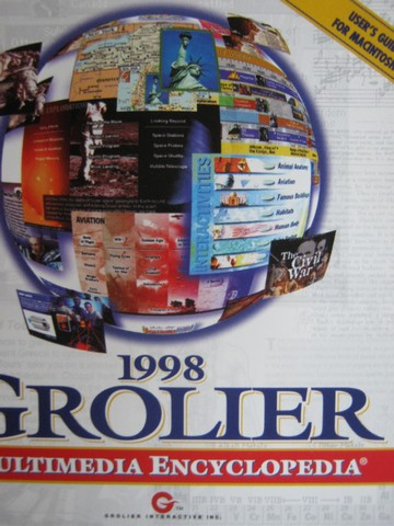 1998 Grolier Multimedia Encyclopedia Macintosh Version (CD)