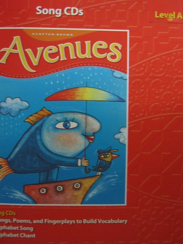 Avenues Level A Song CDs (CD)