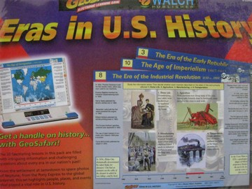 Geosafari Eelectronic Learning Game Eras in US History (Pk)