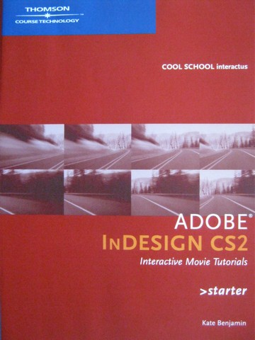 Adobe InDesign CS2 Interactive Movie Tutorials Starter (CD)