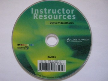 Digital Video Basics Instructor Resources (TE)(CD)