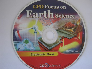 CPO Focus on Earth Science Electronic Book (CD)