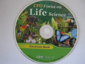 CPO Focus on Life Science Electronic Book (CD)