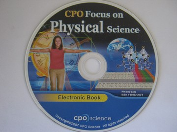CPO Focus on Physical Science Electronic Book (CD)