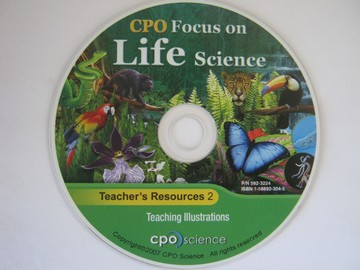 CPO Focus on Life Science Teacher's Resources 2 (TE)(CD)