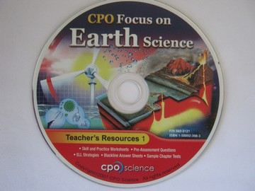 CPO Focus on Earth Science Teacher's Resources 1 (TE)(CD)