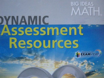 Big Ideas Math Dynamic Assessment Resources (DVD)