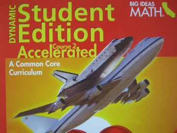 Big Ideas Math Course 2 Accelerated Common Core Dynamic(CA)(DVD)