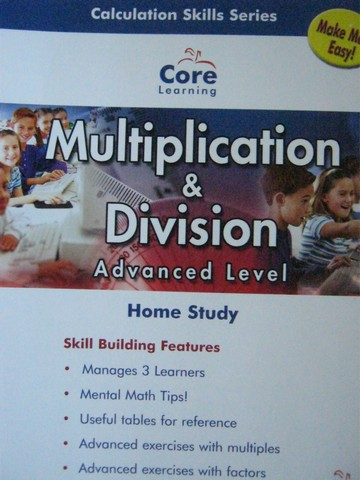 Calculation Skills Series 4 Advanced Level (CD)