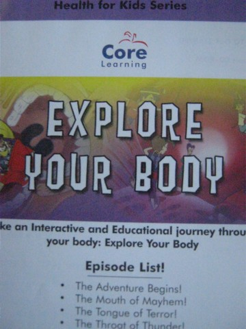 Health for Kids Series 1 Explore Your Body (CD)