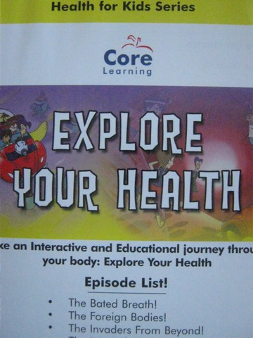 Health for Kids Series 2 Explore Your Health (CD)