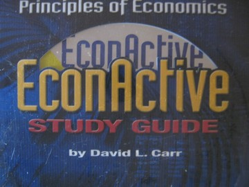 Principles of Economics EconActive Study Guide (CD) by Carr