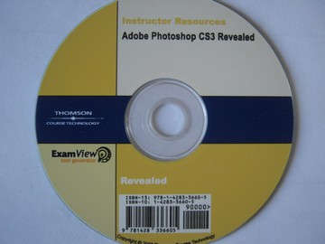 Adobe Photoshop CS3 Revealed ExamView Test Generator (CD)