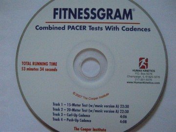 Fitnessgram Combined Pacer Tests with Cadences (CD)