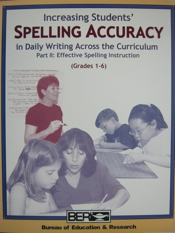 Increasing Students' Spelling Accuracy in Daily Writing 2 (Pk)