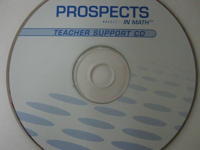 Prospects in Math Teacher Support CD (TE)(CD)