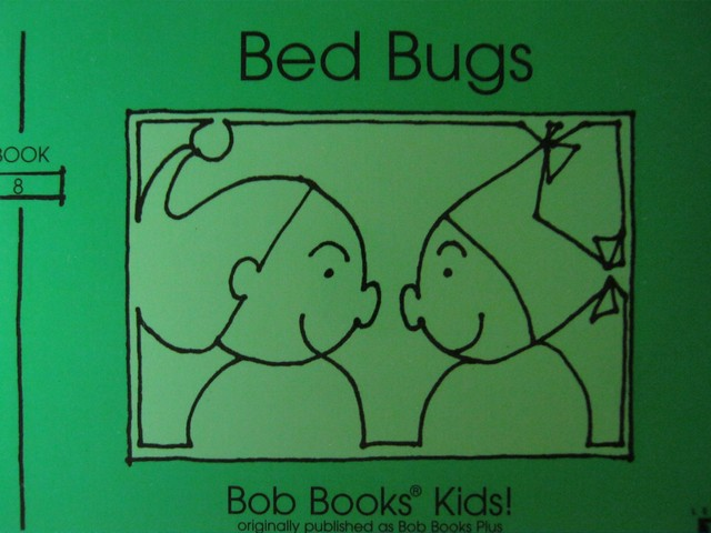 Bob Books Kids! Level B Bed Bugs (P) by Bobby Lynn Maslen