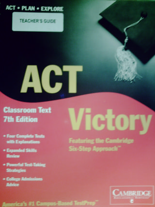 ACT Victory 7th Edition Teacher's Guide (TE)(Spiral)