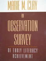 An Observation Survey of Early Literacy Achievement (P)