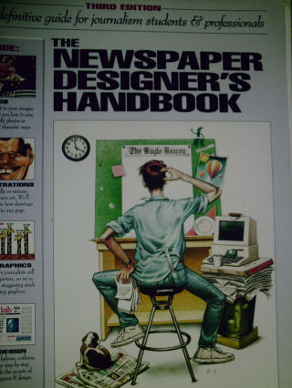 Newspaper Designer's Handbook 3rd Edition (Spiral) by Harrower