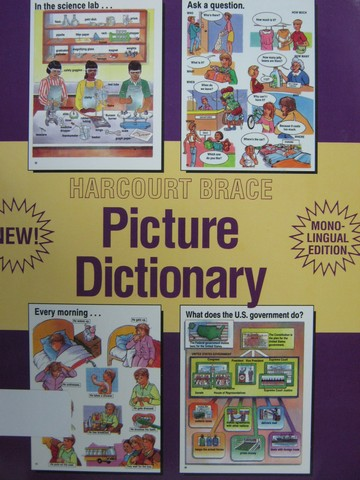 Picture Dictionary Mono-Lingual Edition (P) by Frank Crane