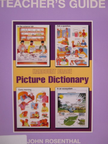 Picture Dictionary TG (TE)(P) by John Rosenthal