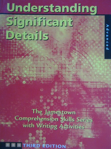 Understanding Significant Details 3rd Edition Advanced (P)