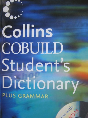 Collins COBUILD Student's Dictionary Plus Grammar 3rd Edition(P)