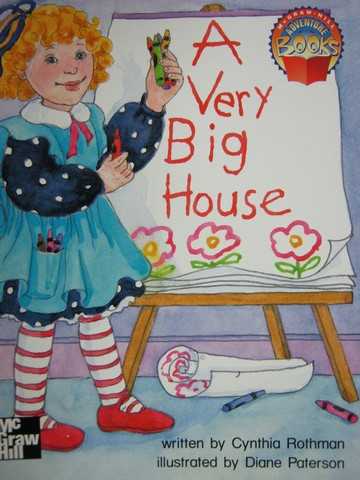 Adventure Books 1 A Very Big House (P) by Cynthia Rothman