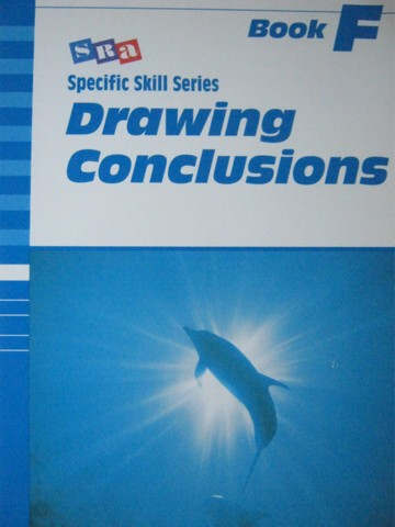 Specific Skill Series Drawing Conclusions Book F 5th Edition (P)