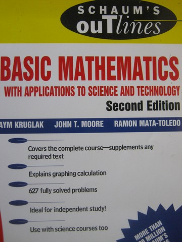 Basic Mathematics with Applications to Science 2nd Edition (P)