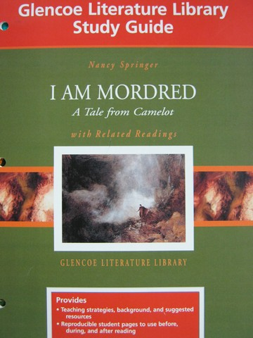 glencoe literature library study guide i am mordred p 0078282675 rh textbooknbeyond com i am mordred study guide questions answers I AM Mordred Archetypes