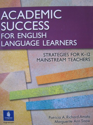 Academic Success for English Language Learners (P)