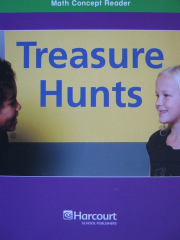 Math Concept Reader 2 Treasure Hunts (P) by Jennifer Marrewa