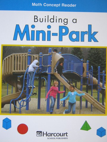 Math Concept Reader 2 Building a Mini-Park (P) by Marrewa
